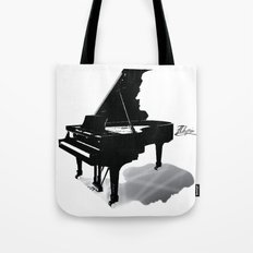 Pianist, Frédéric Chopin Tote Bag
