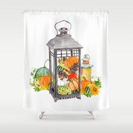 Autumn Vignette Shower Curtain