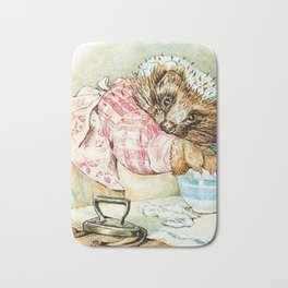 Mrs. Tiggywinkle by Beatrix Potter Bath Mat