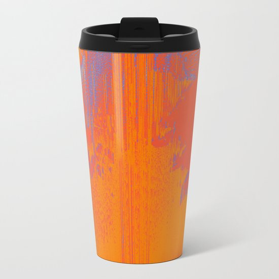 Over Cooked Metal Travel Mug