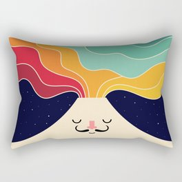 Keep Think Creative Rectangular Pillow