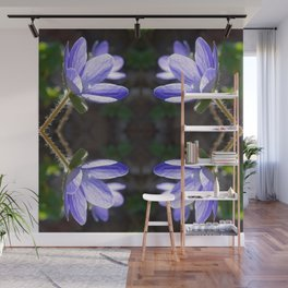 Blue beauty Wall Mural