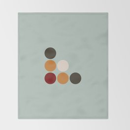 Akateko Throw Blanket