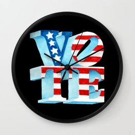 VOTE Wall Clock