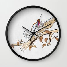 Envy - The Chameleon of Rock Wall Clock