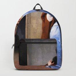 The Kiss - Francesco Hayez Backpack