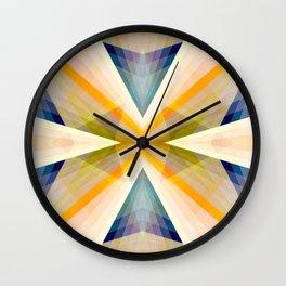 Geometric Mandala 04 Wall Clock