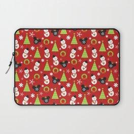 Christmas Mouse Ears Baubles MVMCP Laptop Sleeve