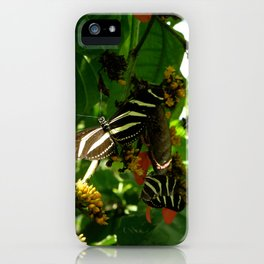 Butterfly Convention. iPhone Case