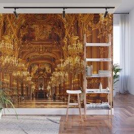 Luxury Opera National de Paris Garnier in France Wall Mural