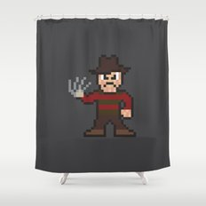 Nightmare on Pixel St. Shower Curtain