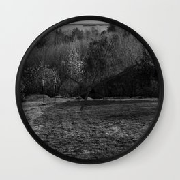 383 (View of the Saint Lawrence) Wall Clock