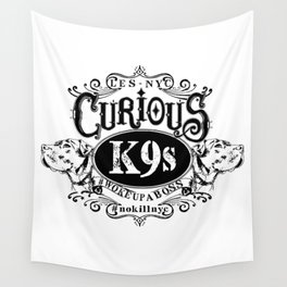 curious k-9's les nyc Wall Tapestry