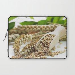 fresh wheat grains for baking Laptop Sleeve