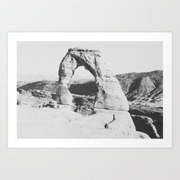 DELICATE ARCH III Art Print
