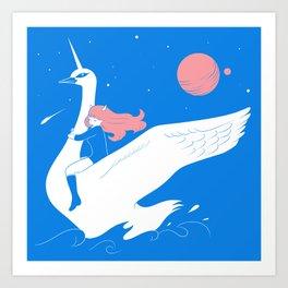 Magical escape Art Print