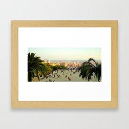 Parc Guell  Framed Art Print