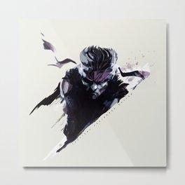 Metal Gear Metal Print
