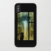 ufo iPhone & iPod Cases featuring UFO by Bakal Evgeny