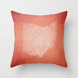 OH-IDentity Throw Pillow