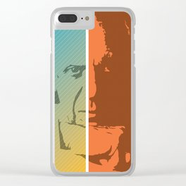 Picasso – Genius Quotes Clear iPhone Case