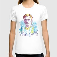 downton abbey T-shirts featuring RIP Matthew Crawley, of Downton Abbey.  by Erin Gallagher Illustration and Design