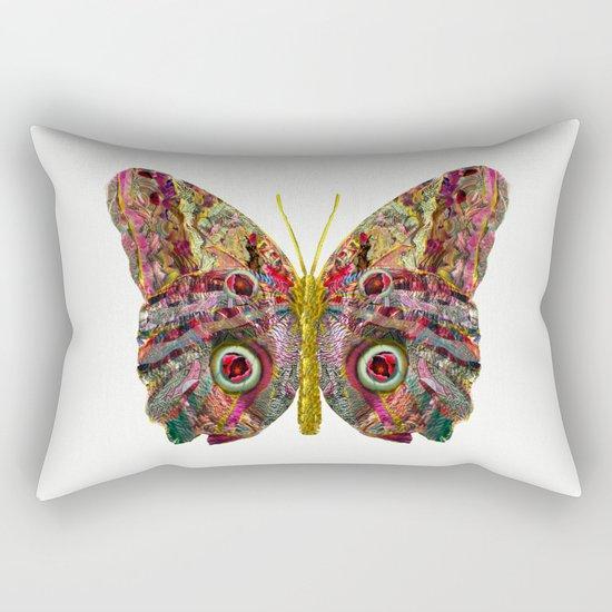 Float Like A Butterfly Rectangular Pillow