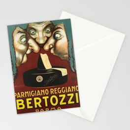 cartaz parmigiano reggiano bertozzi parma Stationery Cards