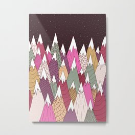 Woodland Warmth Metal Print