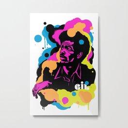 Soul Activism :: Gil Scott-Heron Metal Print