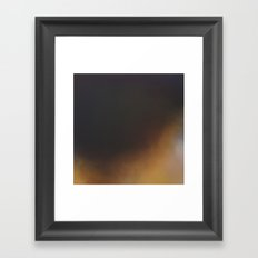 New Year Night - Dark night abstract painting Framed Art Print