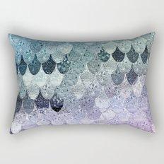 SUMMER MERMAID - HAPPY RAINBOW Rectangular Pillow