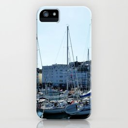 Sunlit Harbour iPhone Case
