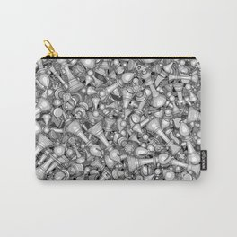 Blitz Chess B&W Carry-All Pouch