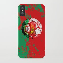 football Portugal  iPhone Case