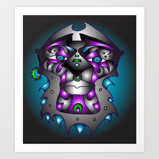 """""""ASHANTI"""" Art Print"""