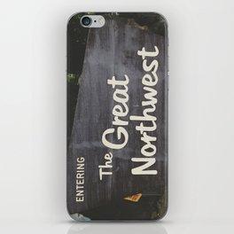 The Northwest  iPhone Skin