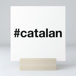 CATALAN Hashtag Mini Art Print