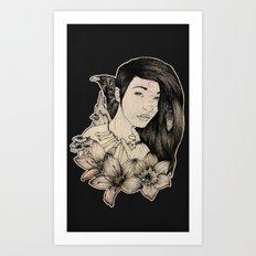 Plague Witch Art Print