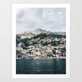 Capri  Day Trip from Positano Art Print