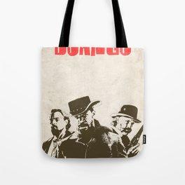 Django Unchained illustration Tote Bag