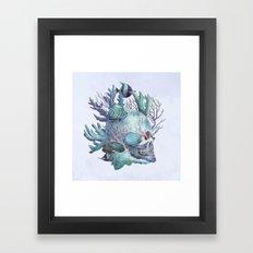 Full Fathom Five - colour option Framed Art Print