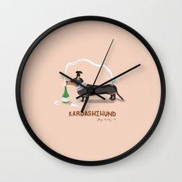 KIM KARDASHIHUND Wall Clock