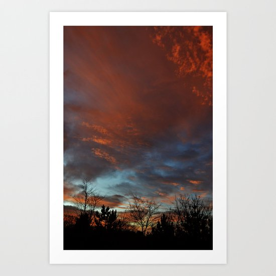 Pennsylvania Morning 5 Art Print