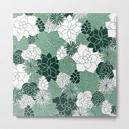 Desert Garden Metal Print