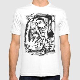 The Scholar - b&w T-shirt