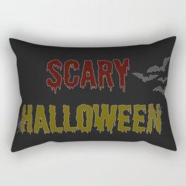 Halloween, Halloween, scary motif, halloween party Rectangular Pillow