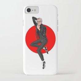 Jeff Goldblum pin up iPhone Case