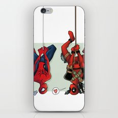 Spideypool iPhone Skin