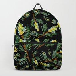 Australian Native Floral Pattern - Beautiful Grevillea Backpack